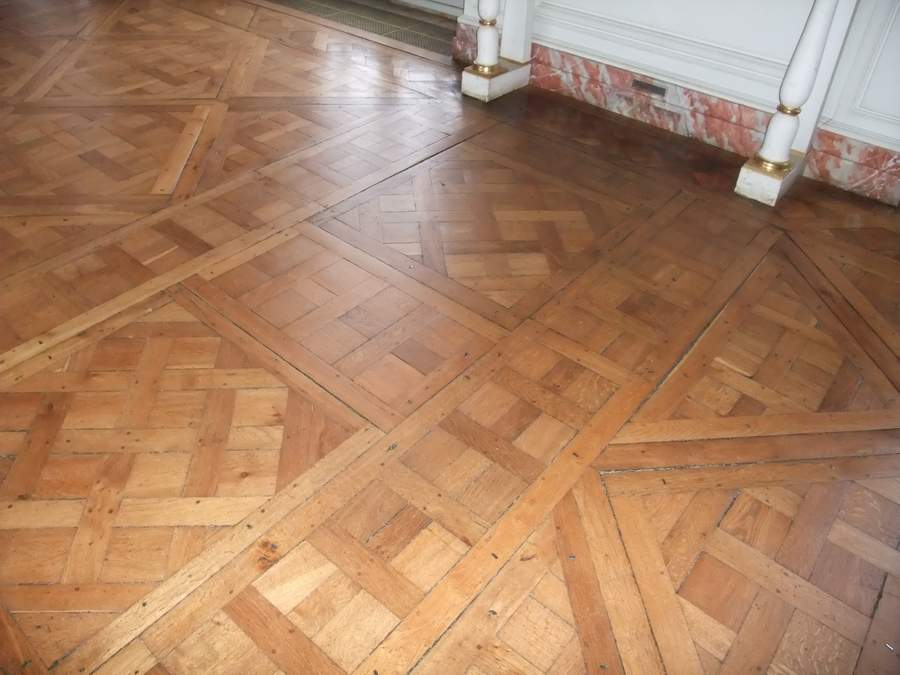 illustration parquet ancien