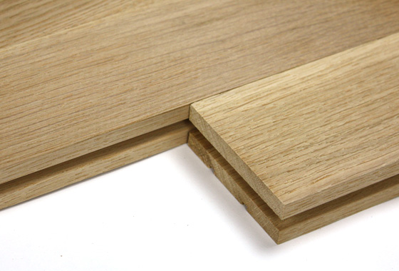 exemple parquet bois massif
