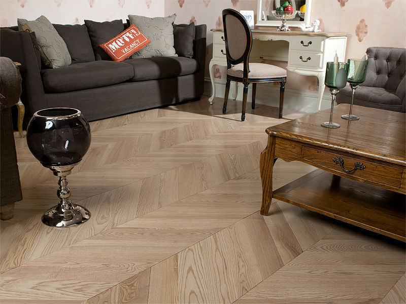 photo parquet chevron