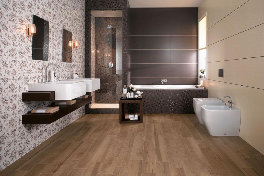 parquet salle de bain teck. affordable pose parquet salle de bain ... - Sol En Teck Salle De Bain