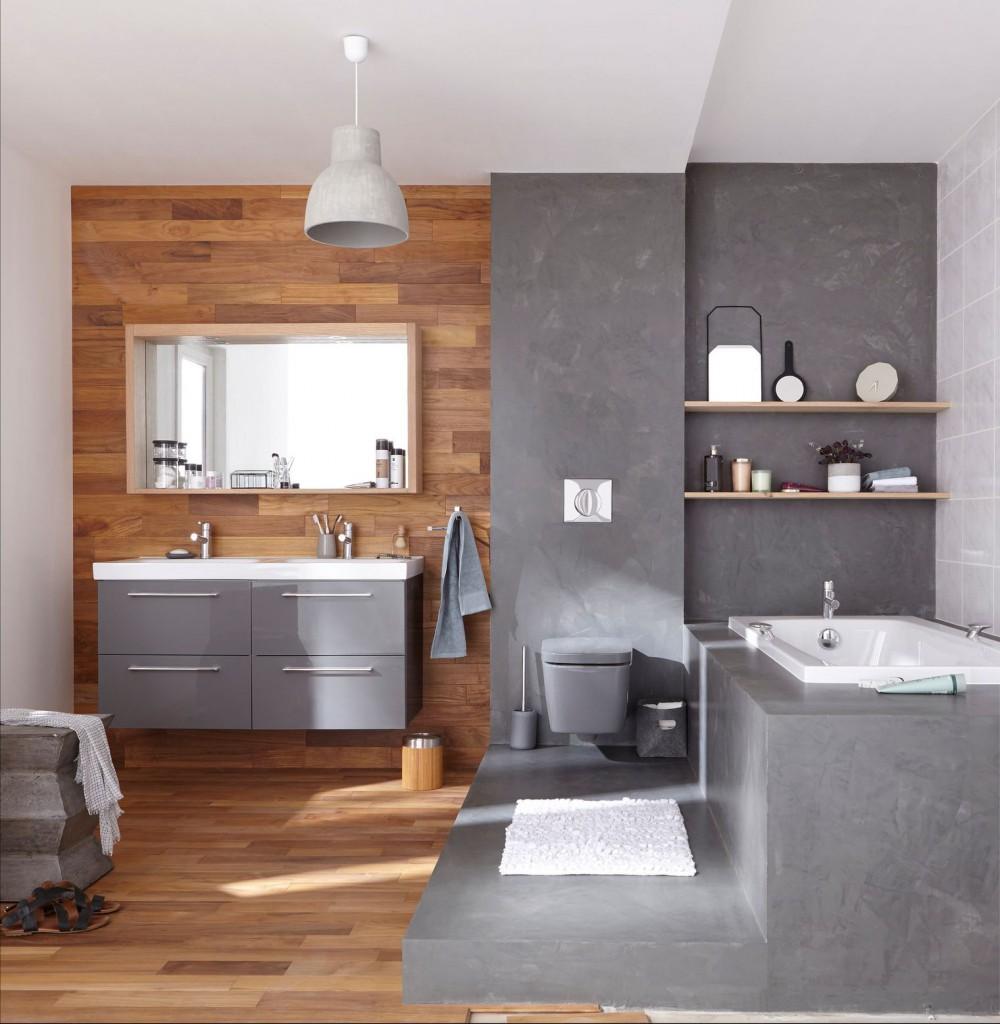 visualiser parquet dans salle de bain