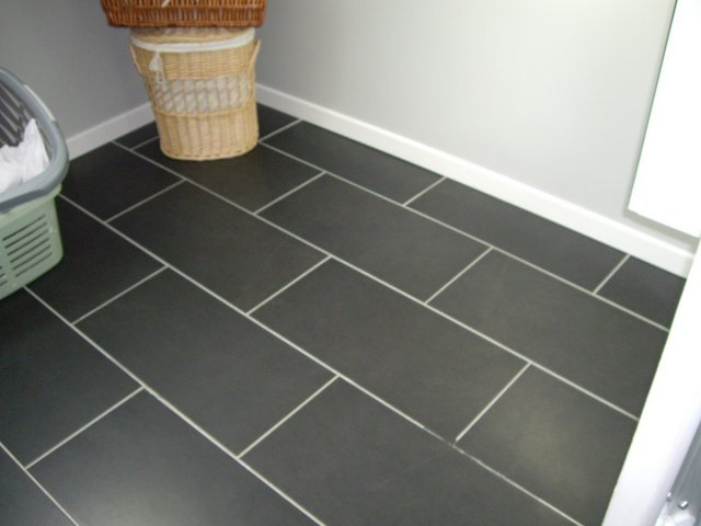 exemple parquet imitation carrelage