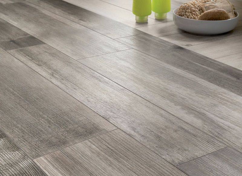 visualiser parquet imitation carrelage gris