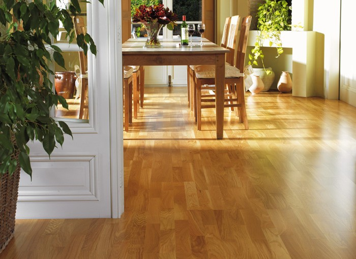 photo parquet interieur