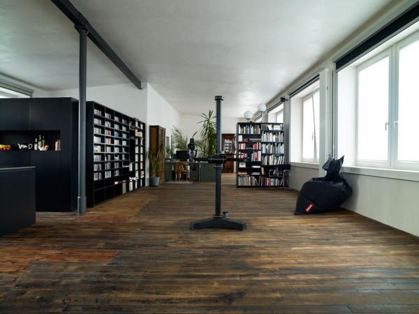 idée parquet loft
