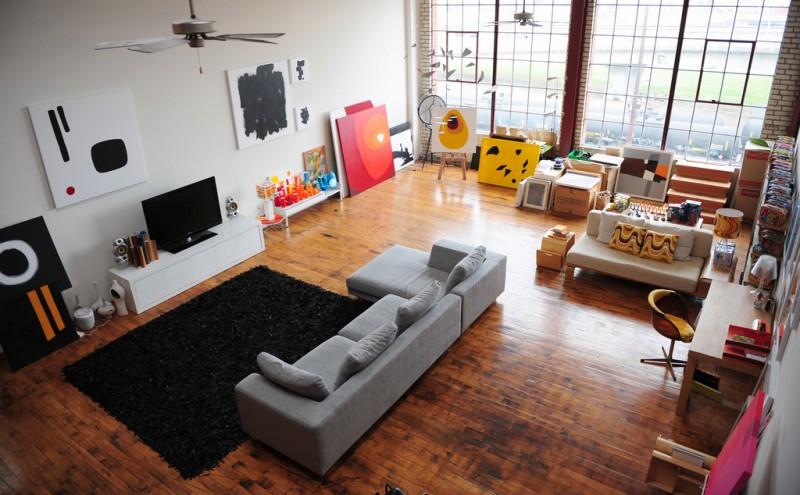 exemple parquet loft