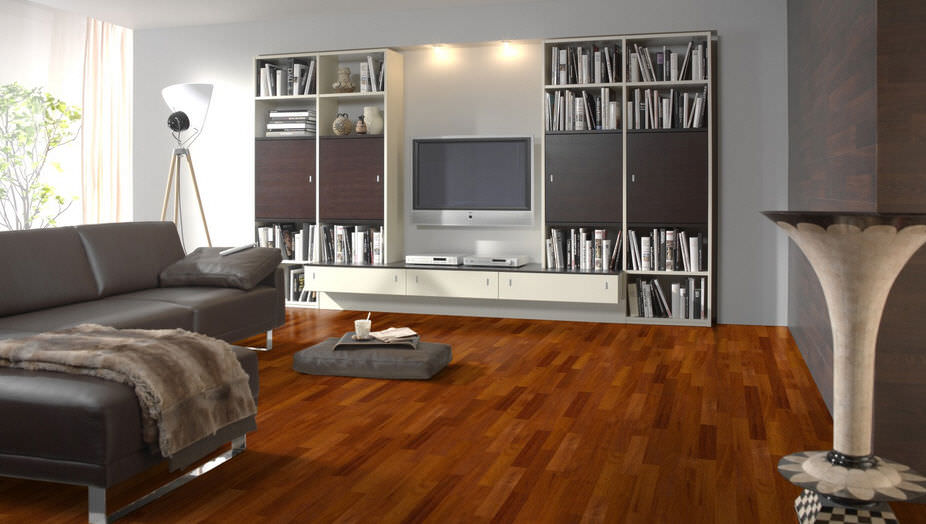 photo parquet merbau