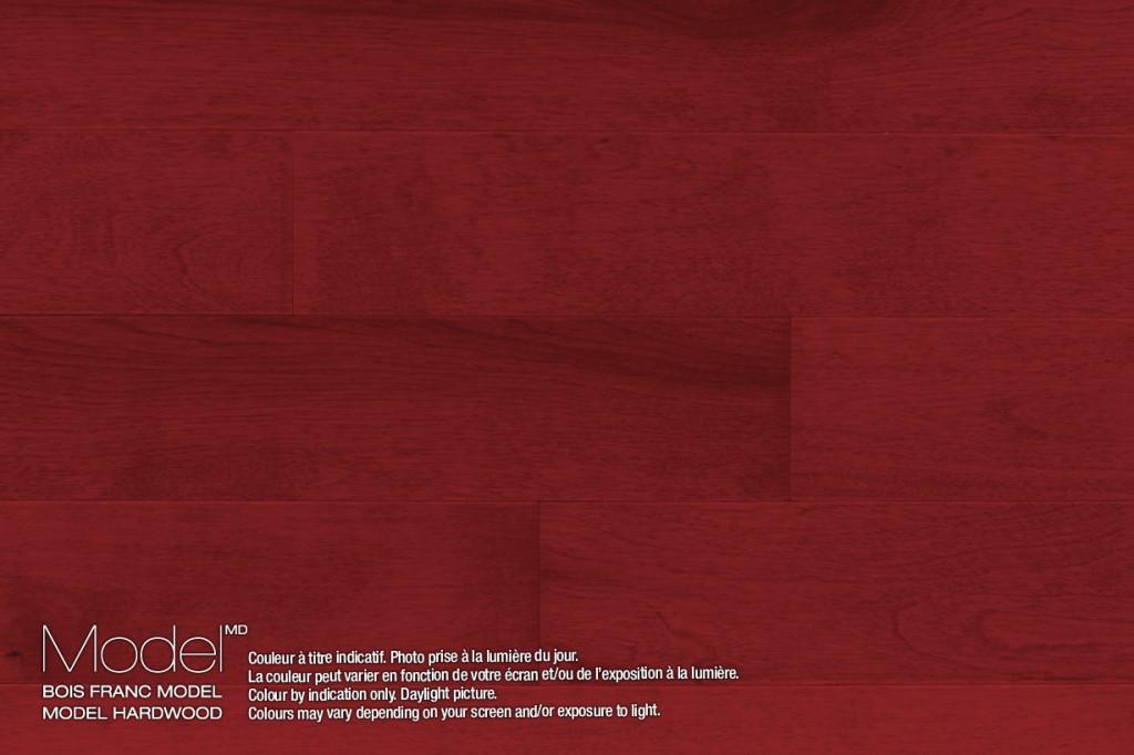 superbe parquet rouge