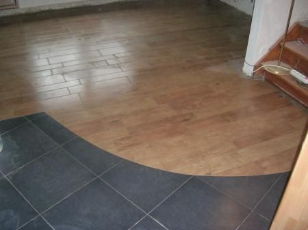 visualiser parquet sur carrelage