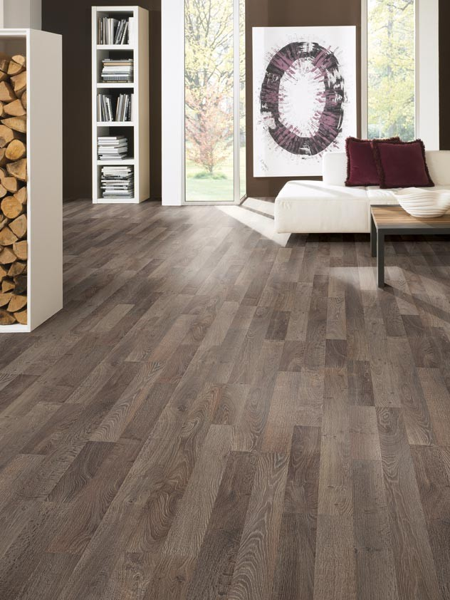 photo parquet taupe
