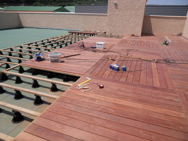 photo parquet terrasse
