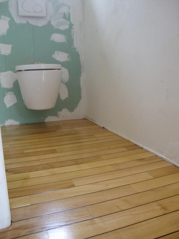 illustration parquet wc