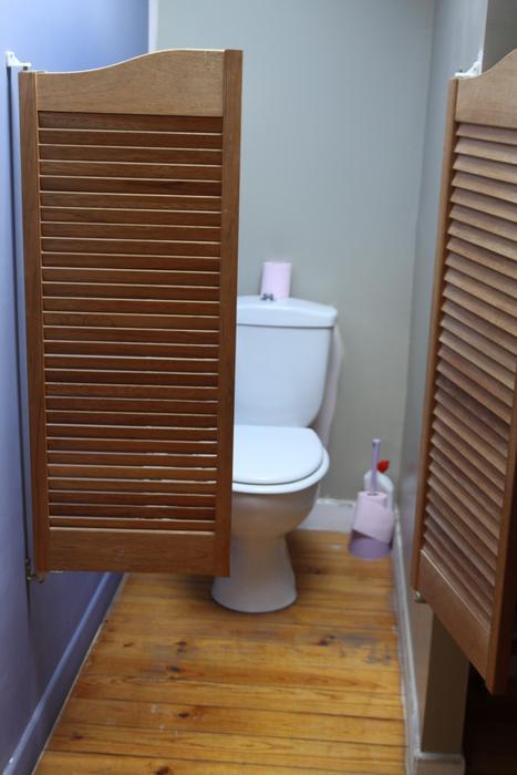idée parquet wc