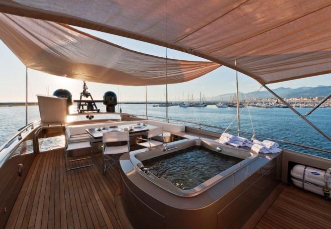 idée parquet yacht